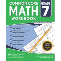 7th grade Math Workbook: CommonCore Math Workbook (Paperback)