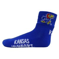 Kansas Jayhawks Blue Quarter Sock