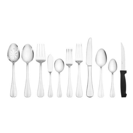 International Silver Simplicity 53-piece Stainless Steel Flatware Set