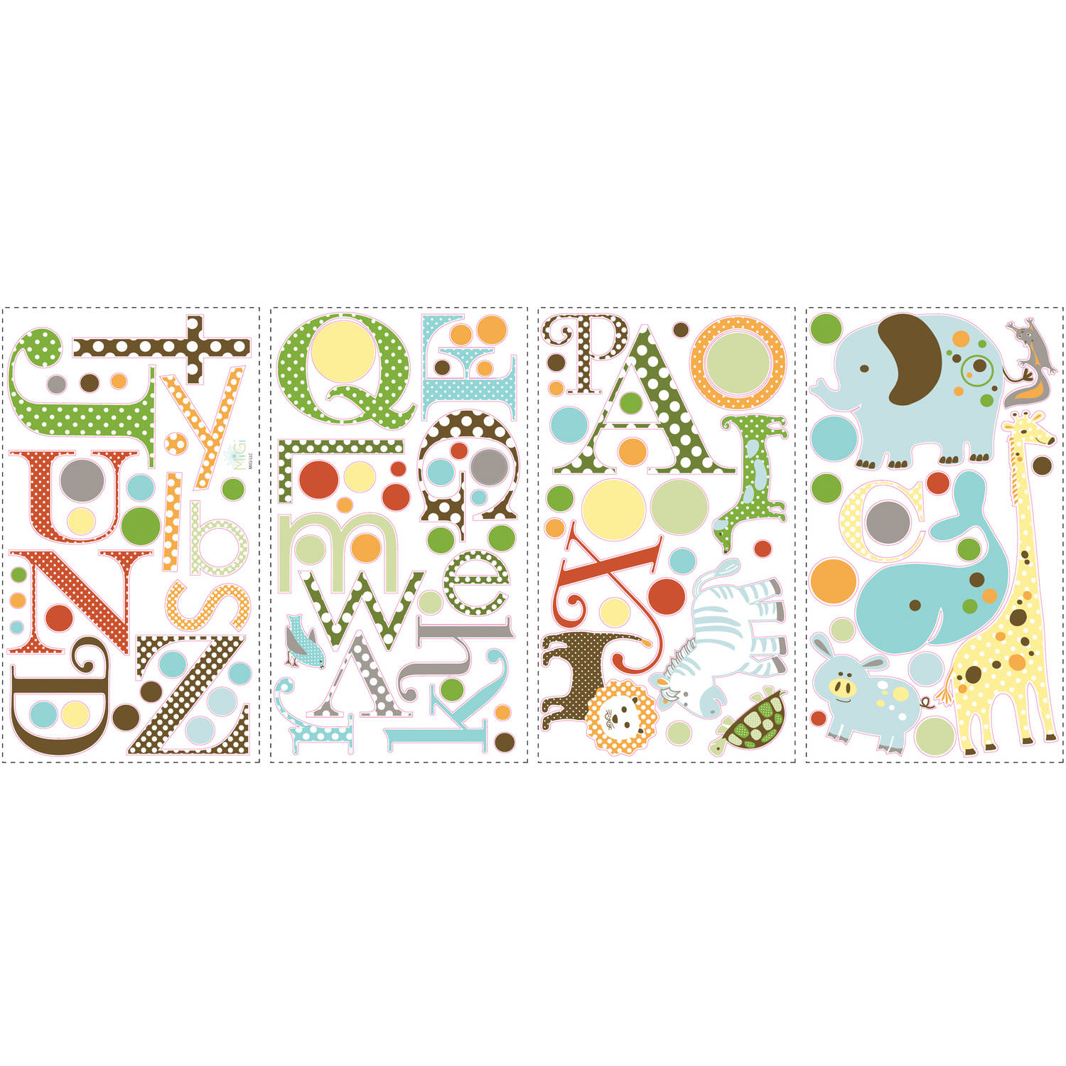 Build-a-House Peel & Stick Mega Pack Wall Decals