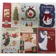 Handmade Christmas Greeting Card Assorted Bulk 36 Pack