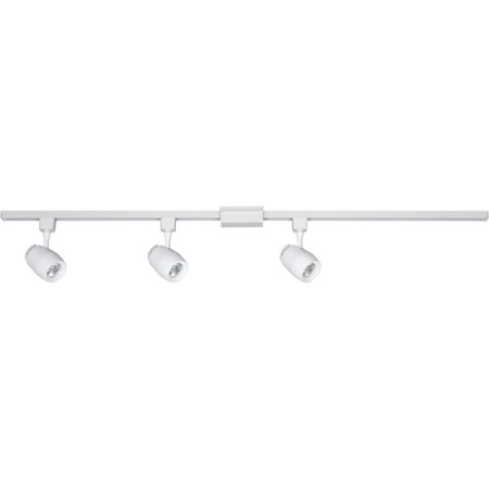 """Progress Lighting P900007-27 48"""" Long 2700K LED Track Kit with 3 Track Heads and"""