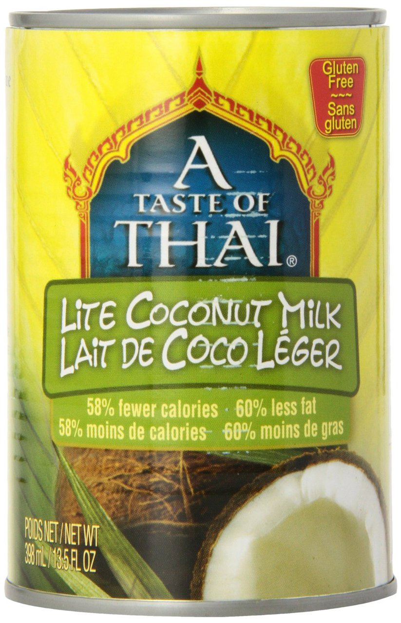 12 PACKS : Taste of Thai Lite Coconut Milk, 13.5000-Ounce by