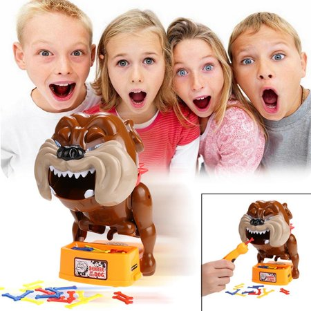 Baby Children Plastic Toys Dont Take Bones Beware Of The Dog Educational Game Toys Above 5Y Aphe