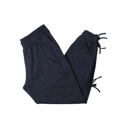Zara Terez Womens Jogger Side-Tie Sweatpants Navy M - Zara Terez Kids