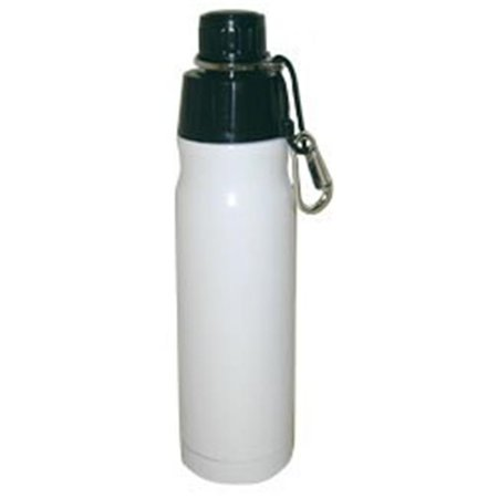 Good Life Gear SF6019 16oz BPA Free Double Wall Vacuum Insulated Water Bottle - White