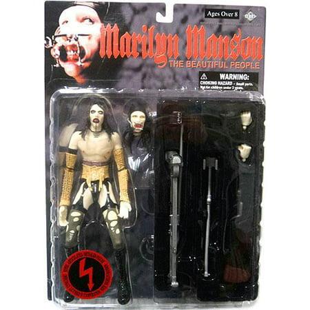 Marilyn Manson The Beautiful People Action Figure - Marilyn Manson Halloween Horror Nights