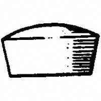 Vermont 17128 Screw Hole Tapered Plug, 1/2 in, Birch