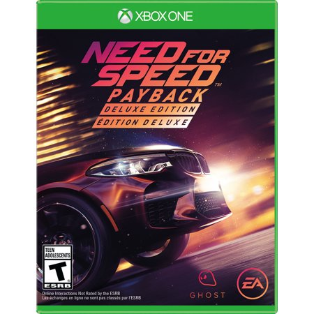 Need For Speed Payback Deluxe Edition  Electronic Arts  Xbox One  014633372342