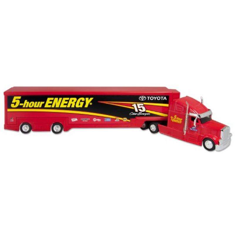 NASCAR #15 5-Hour Energy Drink Clint Bowyer Collector Diecast Hauler, 1:64 Scale