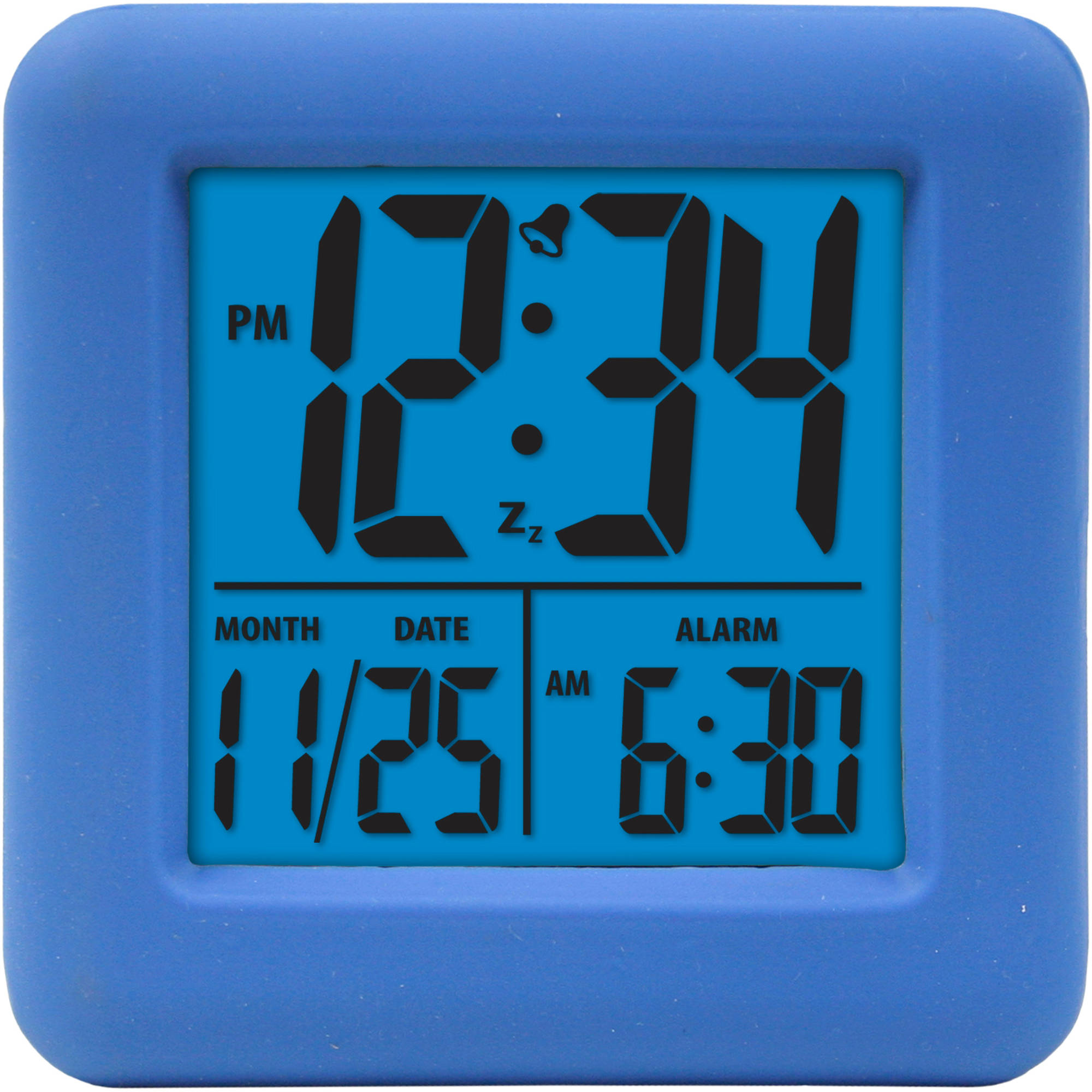 Equity by La Crosse 70902 Digital Cube Alarm Clock with On-Demand Backlight by Equity By La Crosse