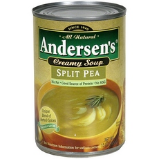 Andersen's: Creamy Split Pea Soup, 15 oz
