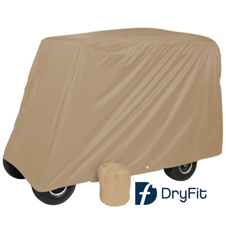 Dry-Fit 4 Passenger Tan Storage Covers for Extended Roof