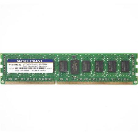 Super Talent DDR3-1333 4GB-256Mx8 ECC-REG CL9 Samsung Chip Server Memory