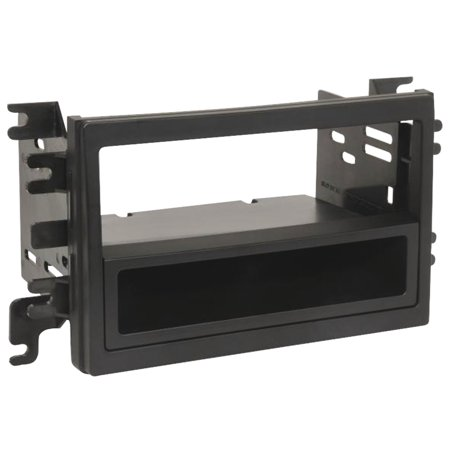Scosche FD1432AB - 2007-Up Ford / Lincoln / Mercury Select ISO Double DIN & DIN+Pocket Dash Kit