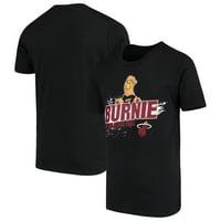 Miami Heat Youth Mascot Ice Break T-Shirt - Black