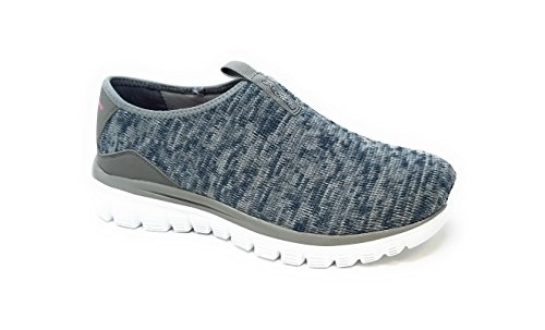 Skechers Graceful 2.0 Perfect Happiness, Womens Slip on Fashion Sneakers, Grey, 6 US