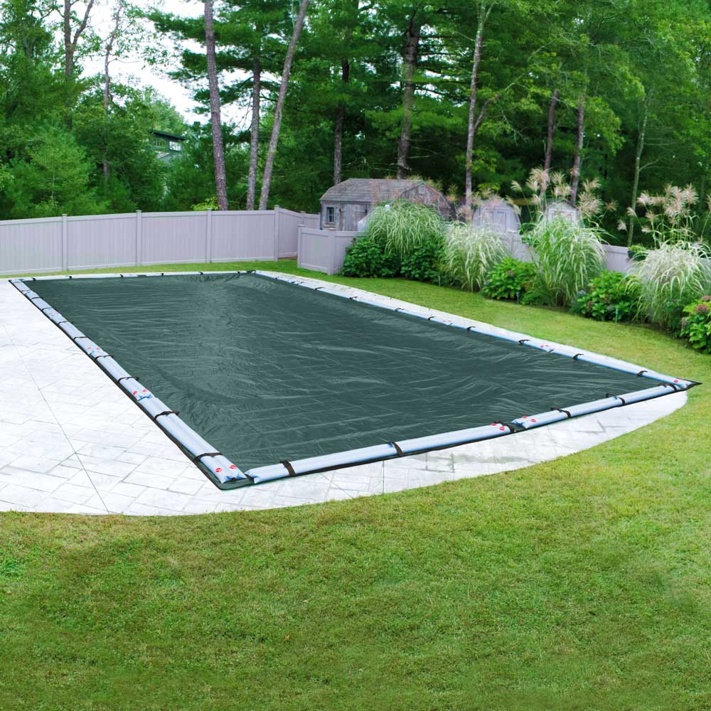 Robelle 15-Year Extra Heavy-Duty Plus Rectangular Winter Pool Cover