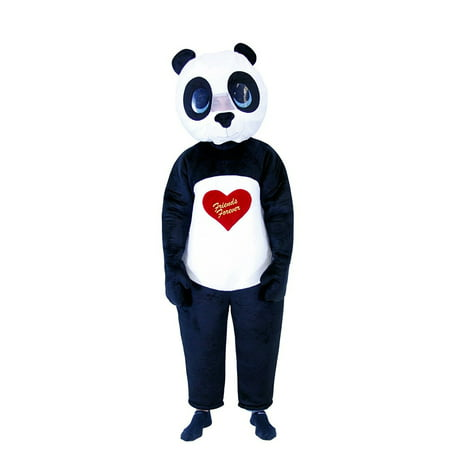 Friends Forever Panda Adult Costume - Party City Panda Costume