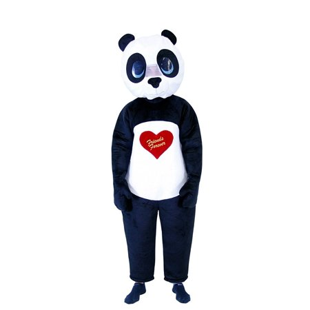 Friends Forever Panda Adult Costume - Friend Costumes Ideas