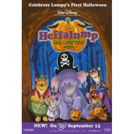 Halloween 6 Movie Poster (Pooh's Heffalump Halloween Movie POSTER Movie)