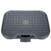 Fdit Foot Stool,Adjustable Height Foot Rest Stool Ergonomic Portable Comfortable Under Desk Home Office