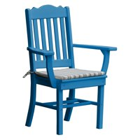 Radionic Hi Tech Oxford Recycled Plastic Royal Patio Dining Arm Chair