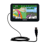 Classic Straight USB Cable suitable for the Garmin Nuvi 50 50LM with Power Hot Sync and Charge Capabilities