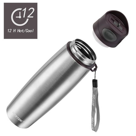 BESTEK Stainless Steel Travel Mug,17 OZ Insulated Double Wall Vacuum Mug for Hot and Cold Beverages - Classic (New Classic Double Handle)