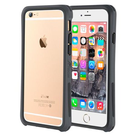 new product 14c53 487e0 iPhone 6s Case, roocase iPhone 6 Bumper (Open Back Design) Ultra Slim  Lightweight with Corner Edge Protection [Linear Bumper] Case Cover for  Apple ...