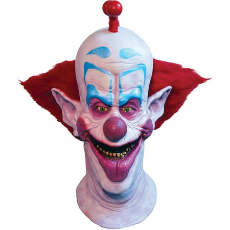 Killer Klown Slim Mask Adult Halloween - Killer Clown Halloween Masks
