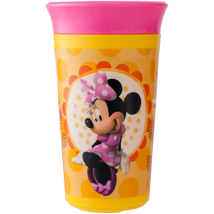 The First Years Disney Baby Minnie Mouse Simply Spoutless Cup, BPA-Free - 9 oz