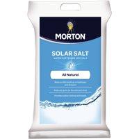Morton 40-Pound Solar Salt Water Softening Crystals