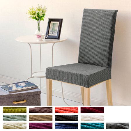 Marvelous Stretch Dining Chair Cover Spandex Chair Cover Protector Seat Slipcover Short Chair Cover Washable For Hone Party Hotel Wedding Ceremony Walmart Com Uwap Interior Chair Design Uwaporg