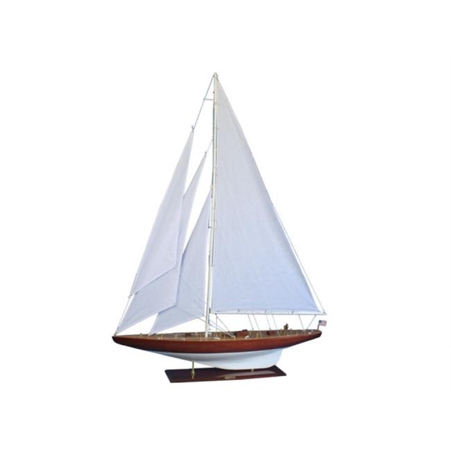 Handcrafted Model Ships R WilliamFife 60 Wooden William Fife Limited Model Sailboat Decoration 60 in. by Handcrafted Model Ships