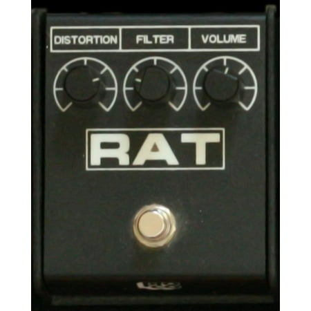 Distortion Control (LAMINATED POSTER ProCo Rat2 Mean distortion box, verges on fuzz with the tone/filter control. Replaces a Vintage Rat Poster Print 24 x 36 )