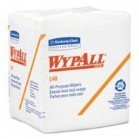 Kimberly Clark Professional - WYPALL L40 Cloth-Like 1/4-Fold Wipers, 12 1/2 x 12, 56/Box, 18 Packs/Carton - Model 05701