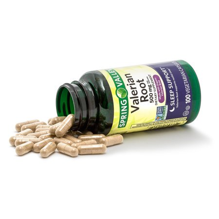 (2 Pack) Spring Valley Valerian Root Capsules, 500 mg, 100 Ct