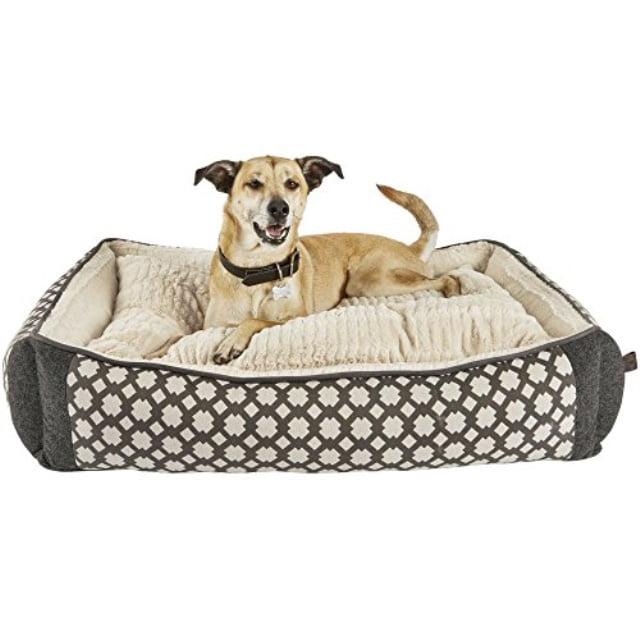 Harmony Grey Nester Orthopedic Dog Bed 40 L X 30 W Large Gray