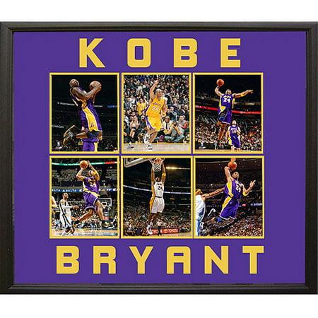 Nba Kobe Bryant 6 Photo Collage  30X34
