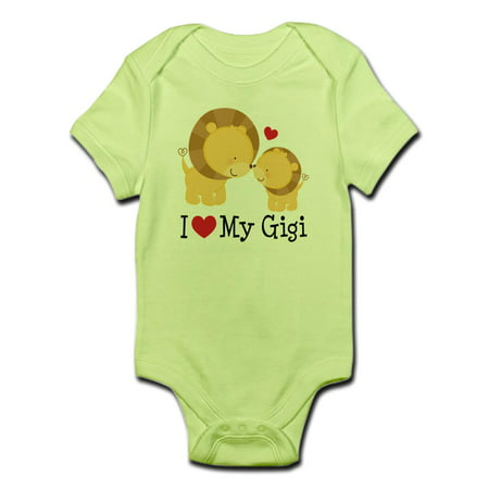 52fce997c CafePress - CafePress - I Love Gigi Infant Bodysuit - Baby Light Bodysuit -  Walmart.com