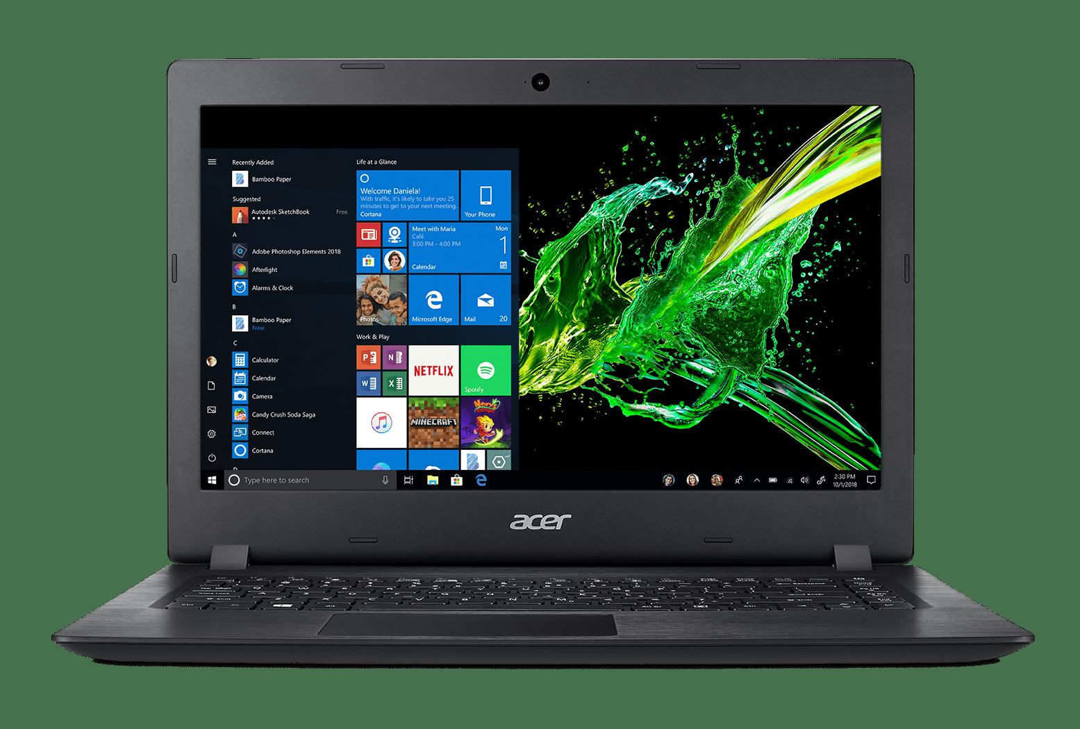 Acer Aspire 3 14 Hd Amd A9 9420e 4gb Ddr4 128gb Ssd Windows 10 In S Mode A314 21 91v1 Walmart Com Walmart Com
