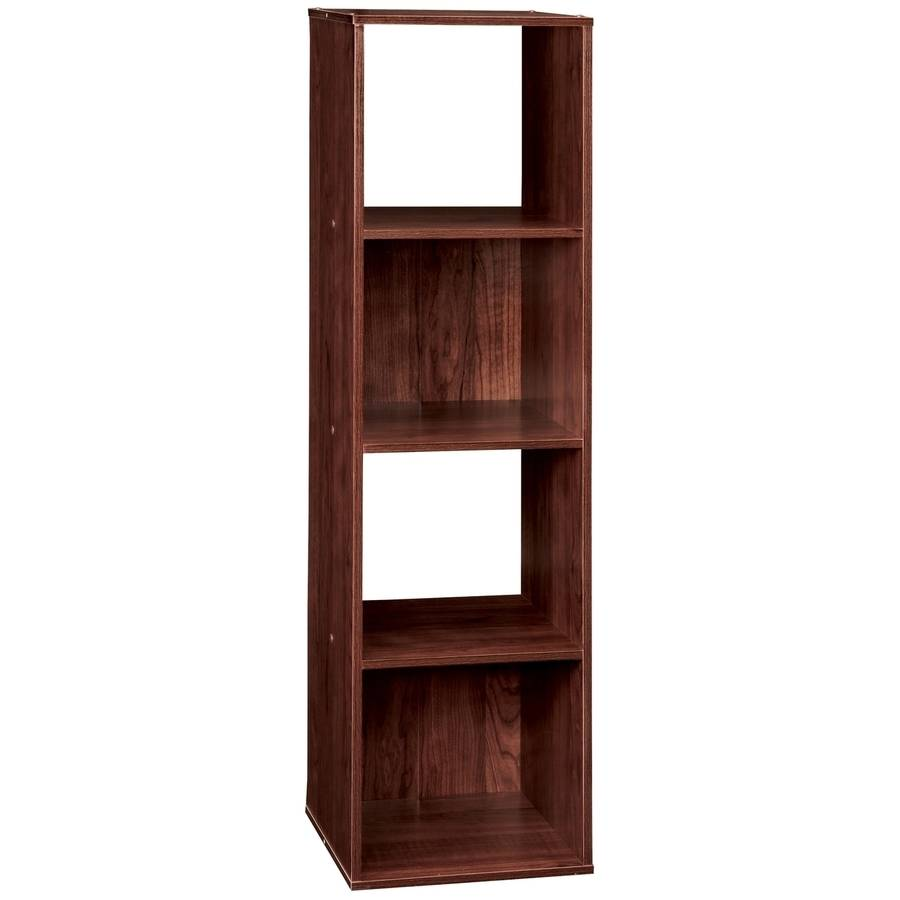 ClosetMaid 4 Cube Organizer, Dark Cherry