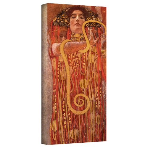 ArtWall ''Hygieia'' by Gustav Klimt Print of Painting on Canvas