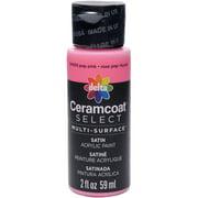 Ceramcoat Select Multi-Surface Paint 2oz-Pop Pink