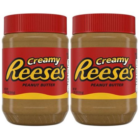 Peanut Butter Spread ((2 Pack) Reese's Creamy Peanut Butter, 18 oz)