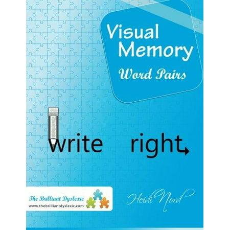 Visual Memory Word Pairs  Write Right