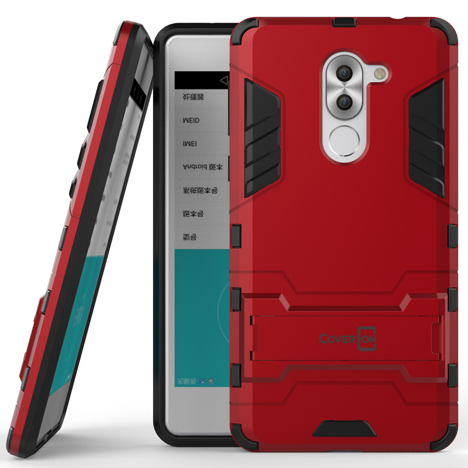 Case Xiaomi Redmi Note 3 Casing Robot Kick Series Red Free Tempered 4a Hybrid Transformer Standing Jual Hp Pro Best Wallpaper Source Coveron Huawei Honor 6x Mate 9 Lite Shadow Armor Kickstand Phone Cover