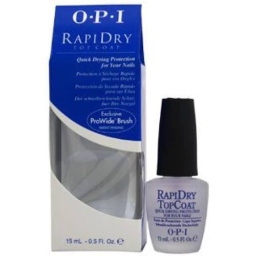 OPI  Rapidry Top Coat Nail Polish, 0.5 oz (Pack of 2)