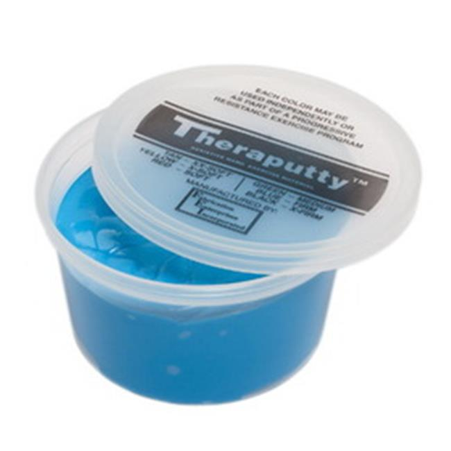 Fabrication Enterprises 10-2645 Theraputty Plus Antimicrobial Exercise Putty, Black - 1 lbs